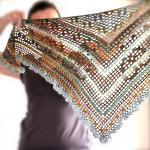 Triangular Crochet Shawl