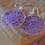Delicate Lacy Earrings - By..