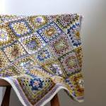 Granny Square Crochet Lap B..